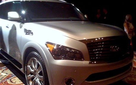 Nissan's All New 2011 Infiniti QX56 To Make Debut at New York Auto Show