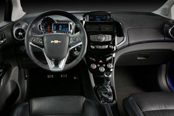 Chevrolet Aveo Concept Interior