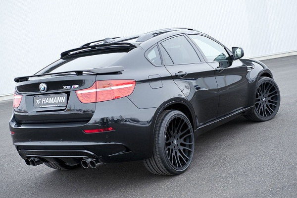 The Hamann BMW X6M also received a new suspension system that reduces the