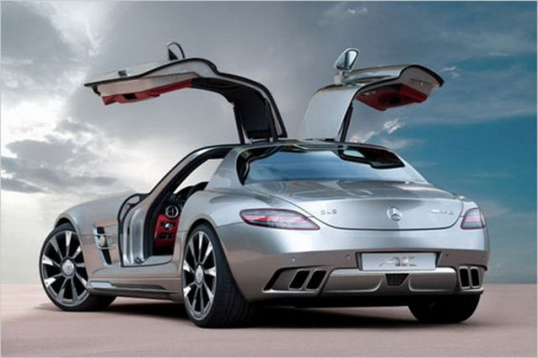 Mercedes SLS AK Car Design Mercedes AMG Gullwing Gets a New Look by AK Car Design