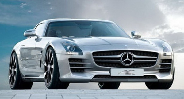 Mercedes SLS AMG Gullwing AK Car Mercedes AMG Gullwing Gets a New Look by AK Car Design