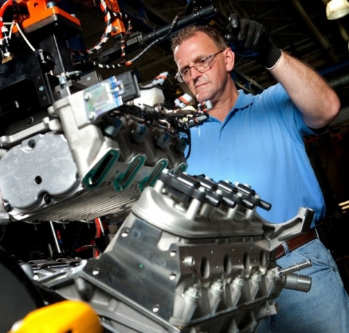 corvette build engine