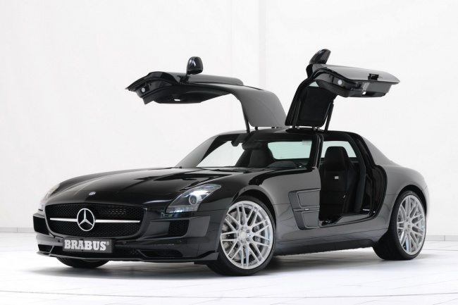 Mercedes Benz Sls Amg Stealth Model Car. thus tuned the car with a