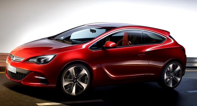 Dropping off the coversvfrom its GTC Paris concept car, Opel has just