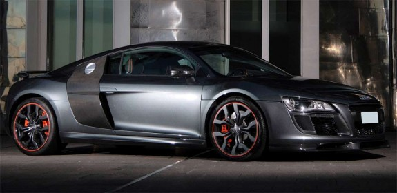 Audi R8 Convertible Black